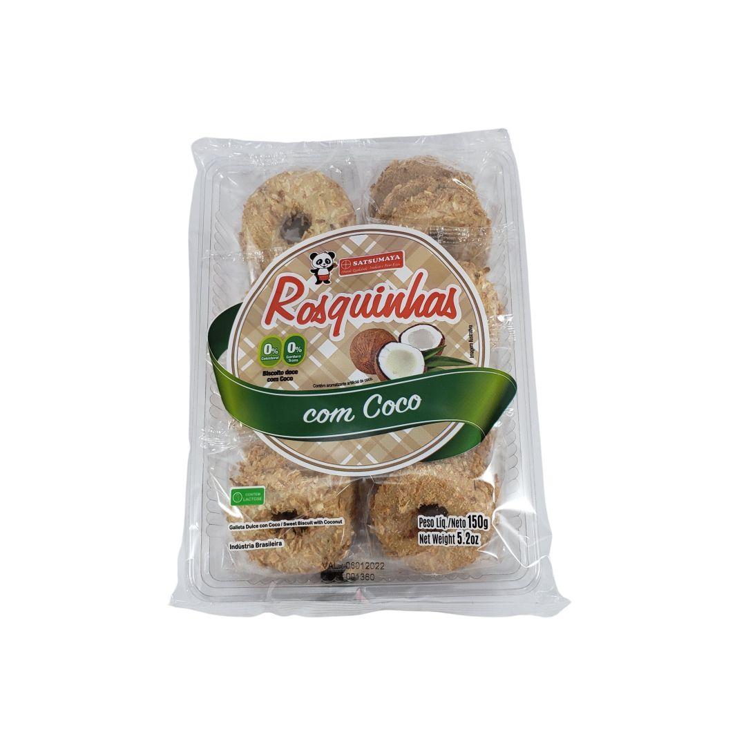 Rosquinha Biscoito Doce com Coco Satsumaya 150g