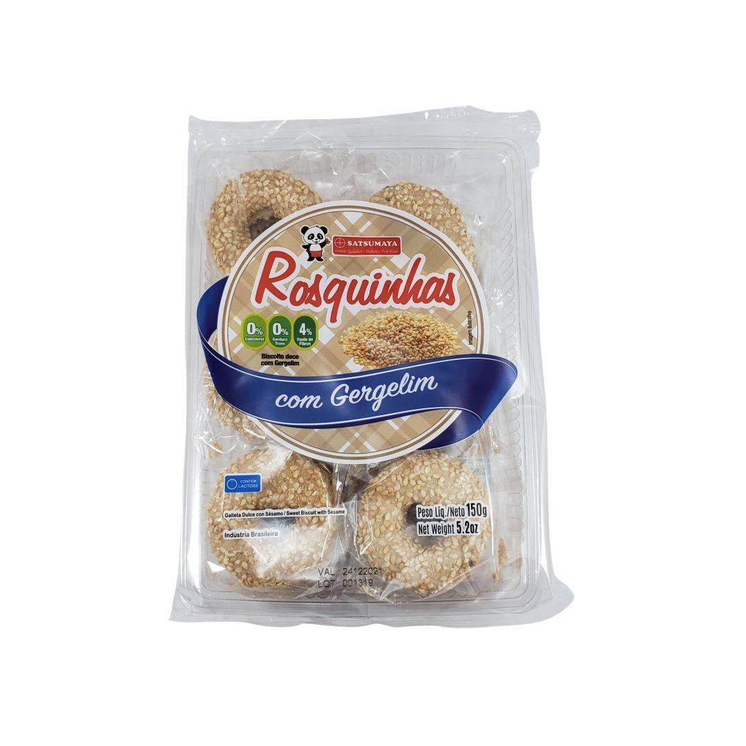 Rosquinha Biscoito Doce com Gergelim Satsumaya 150g