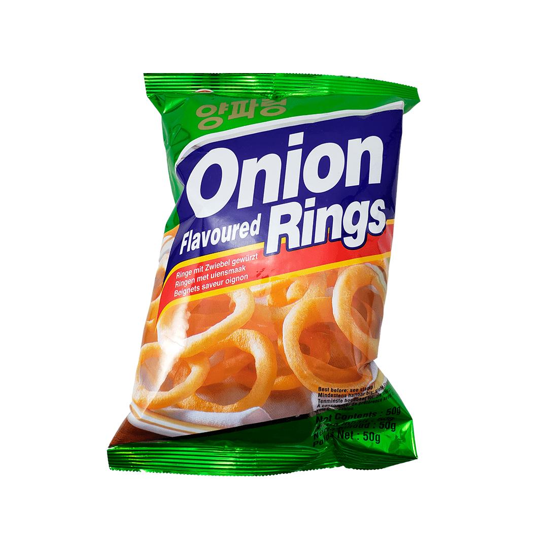 Salgadinho Coreano sabor Cebola Onion Rings 50g