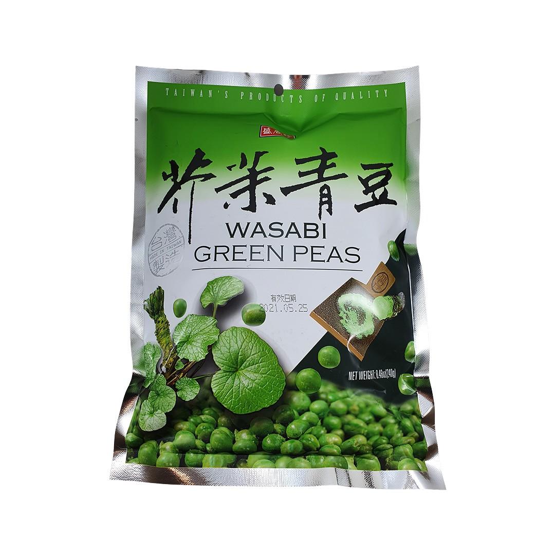 Salgadinho de Ervilha com Wasabi Triko Foods 240g
