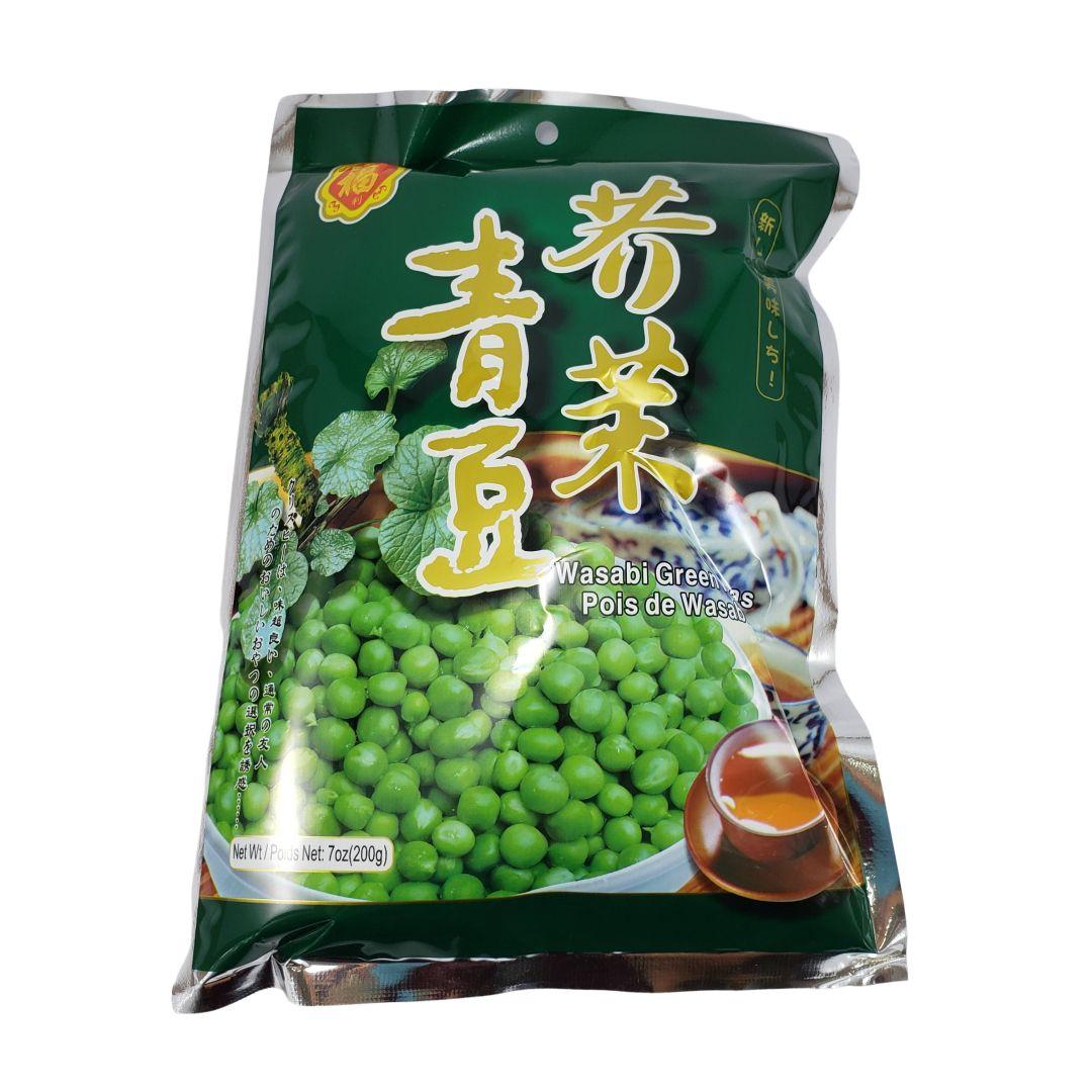 Salgadinho de Ervilha com Wasabi Zhong Shan 200g