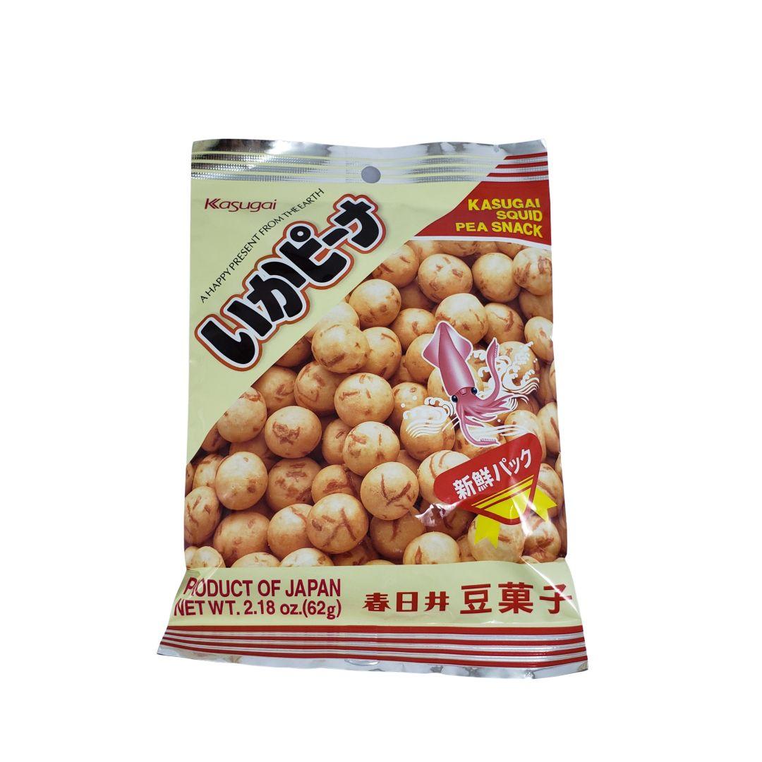 Salgadinho de Lula Japonês Kasugai Ika Peanuts 62g
