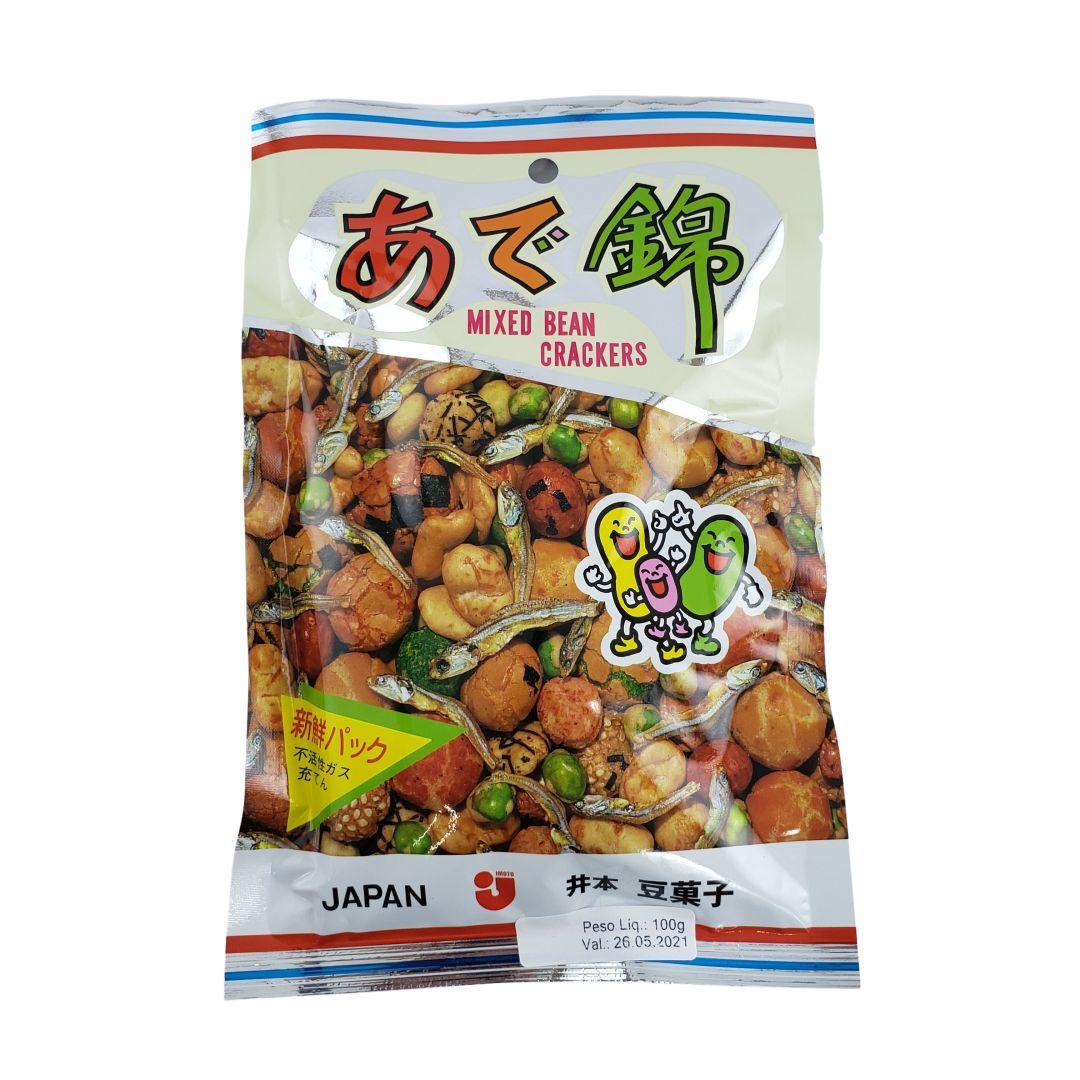 Salgadinho Japonês Adenishiki Imoto 100g