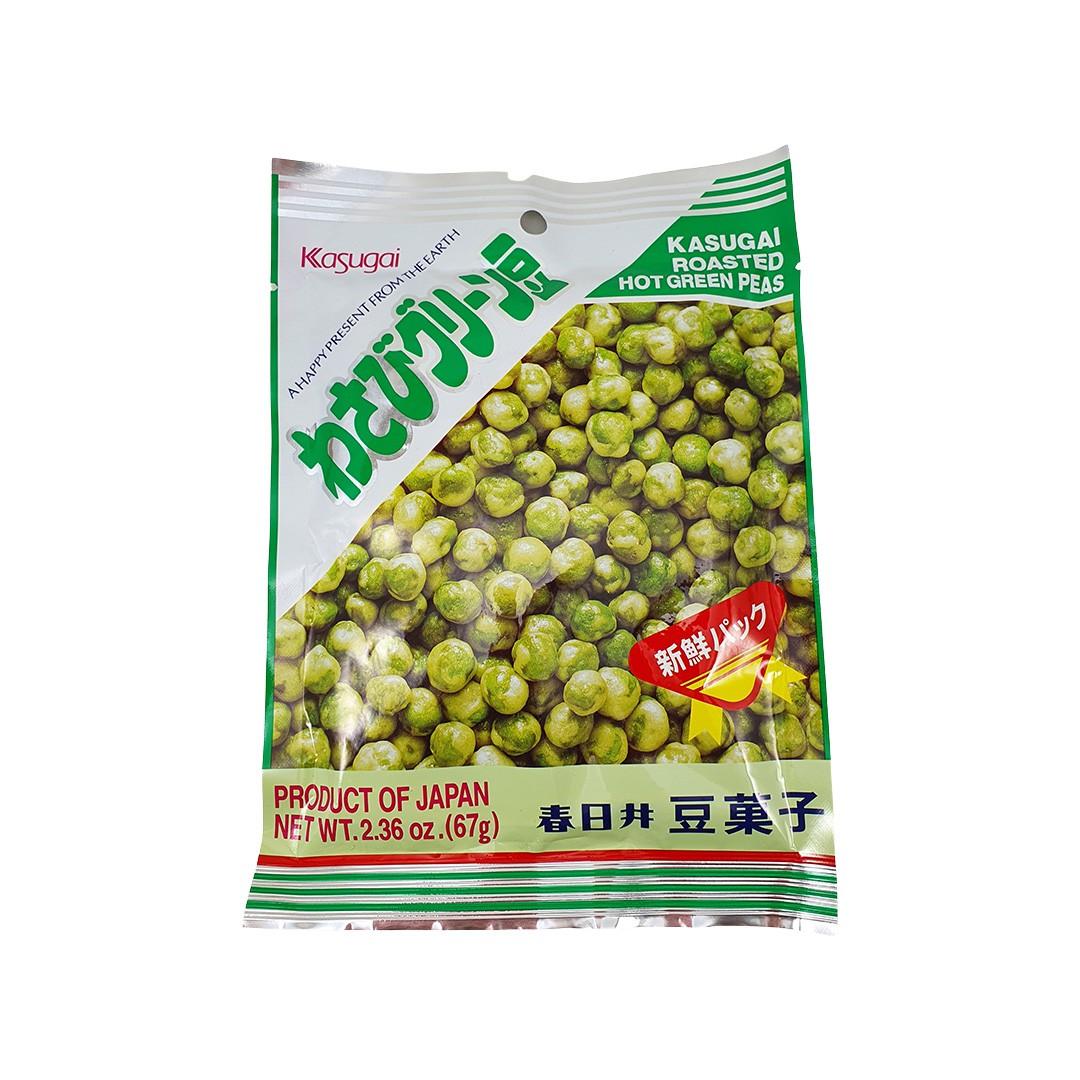 Salgadinho Japonês de Ervilha com Wasabi Kasugai Green Mame 67g