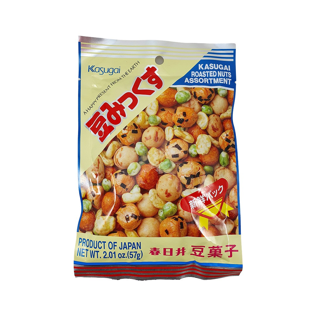Salgadinho Japonês Kasugai Mame Mix 57g