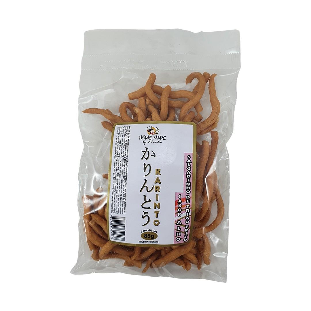 Salgadinho Karinto sabor Alho Home Made by Misako 85g
