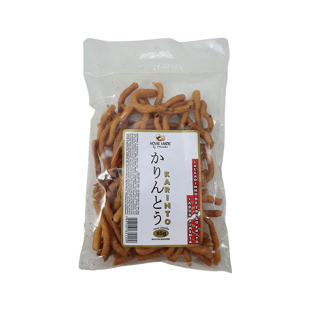 Salgadinho Karinto sabor Pimenta Home Made by Misako 85g