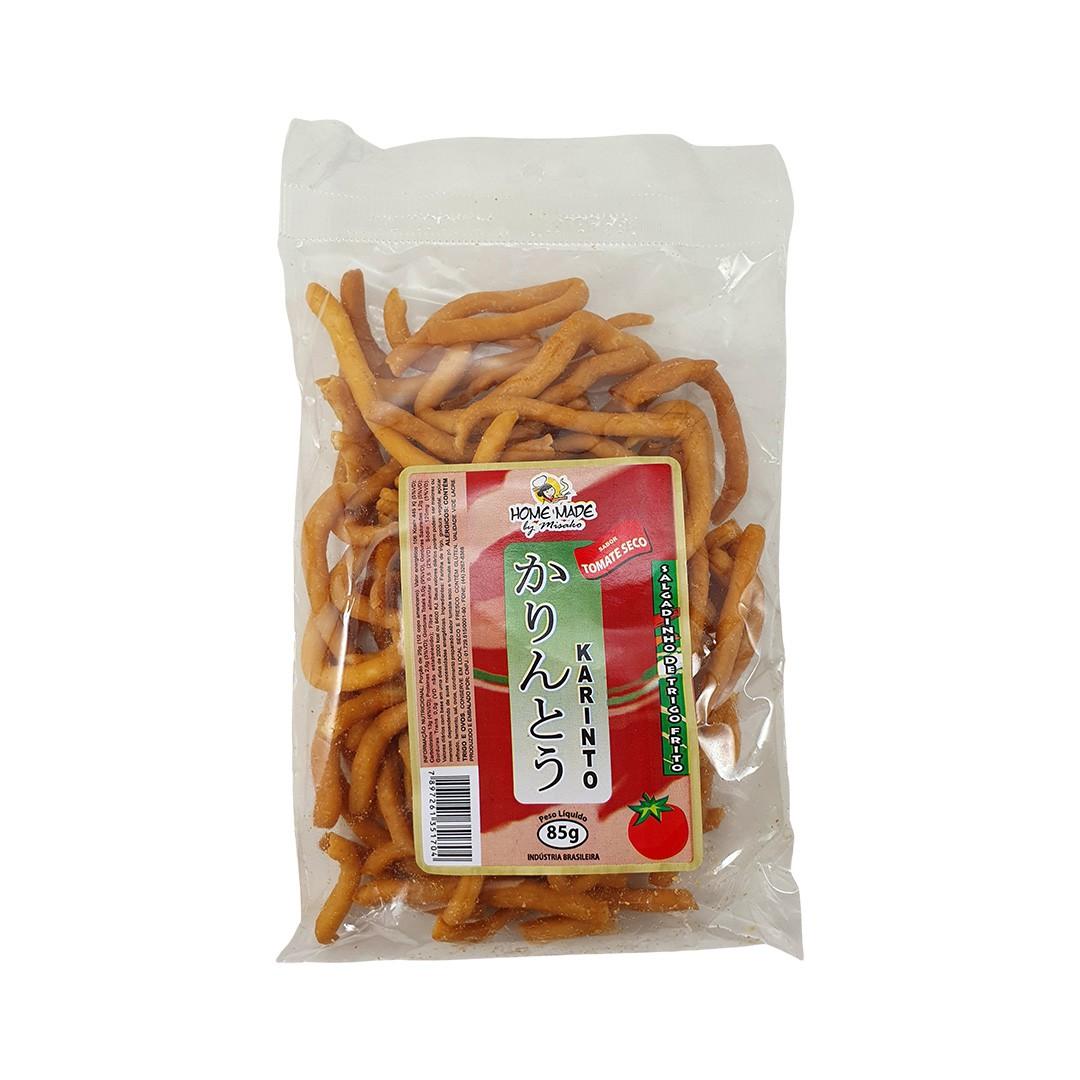 Salgadinho Karinto sabor Tomate Seco Home Made by Misako 85g