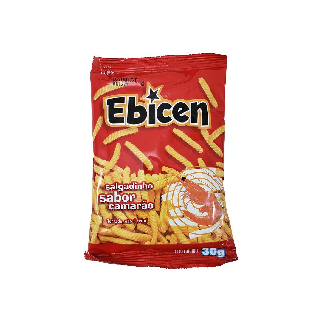 Salgadinho sabor Camarão Ebicen 30g