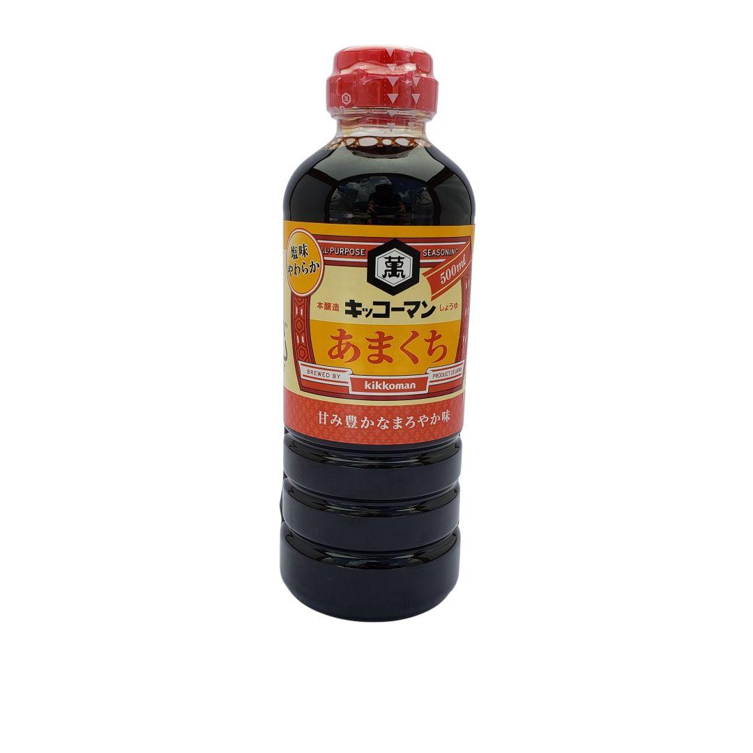 Shoyu Kikkoman Suave Amakuchi 500ml
