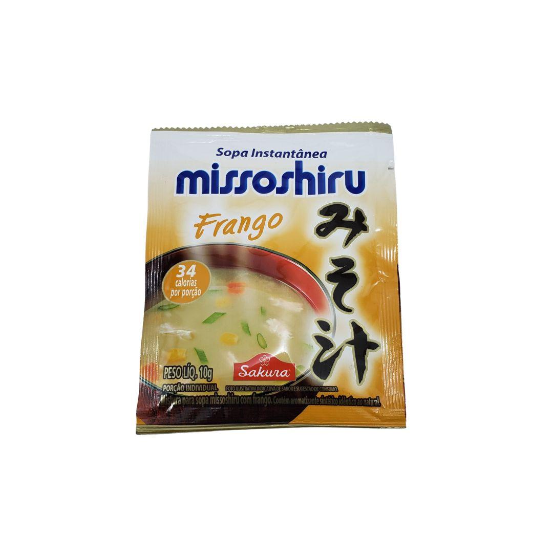 Sopa Missoshiru Instantâneo Frango Sakura