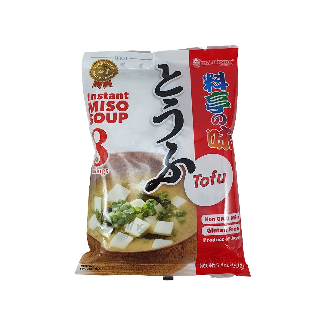 Sopa Missoshiru Instantâneo Japonês com Tofu Marukome 152g