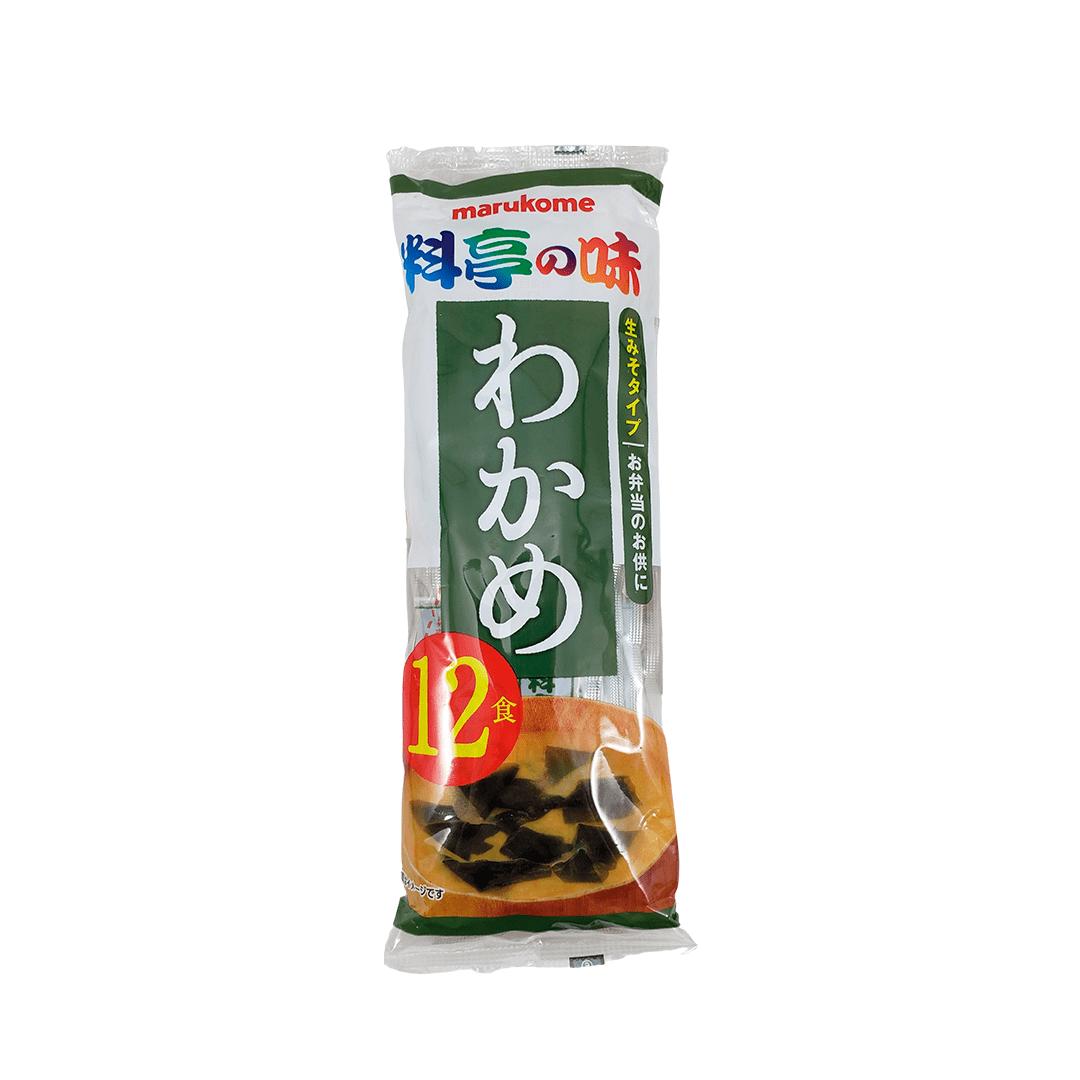 Sopa Missoshiru Instantâneo Japonês com Wakame Marukome Ryotei 216g