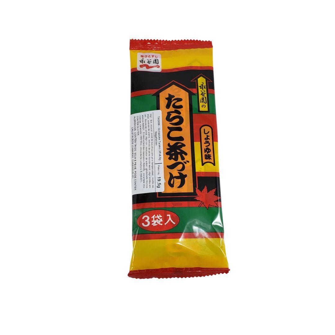 Tempero para Arroz Japonês Ochazuke Ovas Tarako 3 Saches
