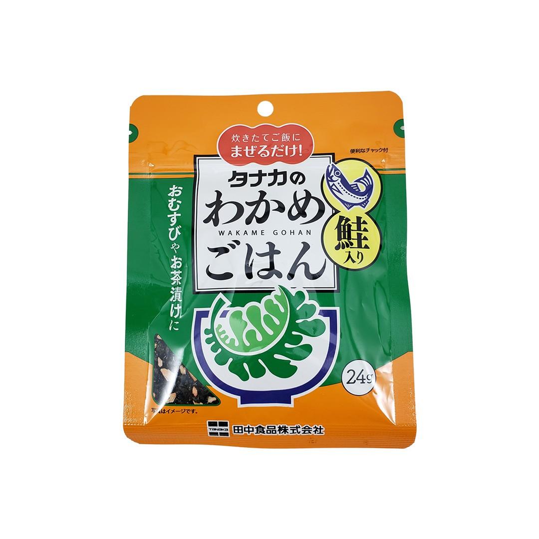 Tempero para Arroz Wakame Gohan sabor Salmão Tanaka 24g