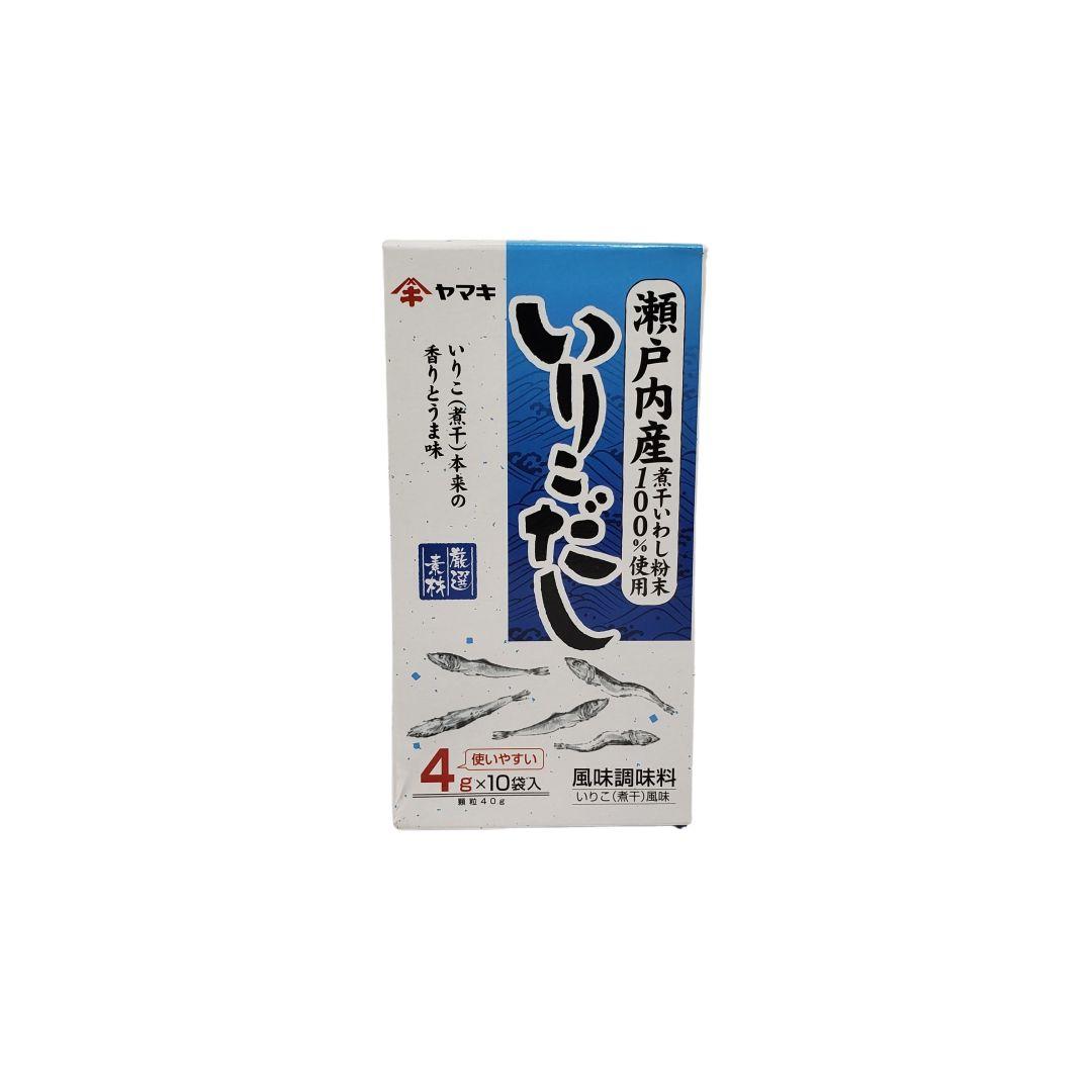 Tempero para Caldos a base de Peixe Iriko Dashi no Moto Yamaki 40g