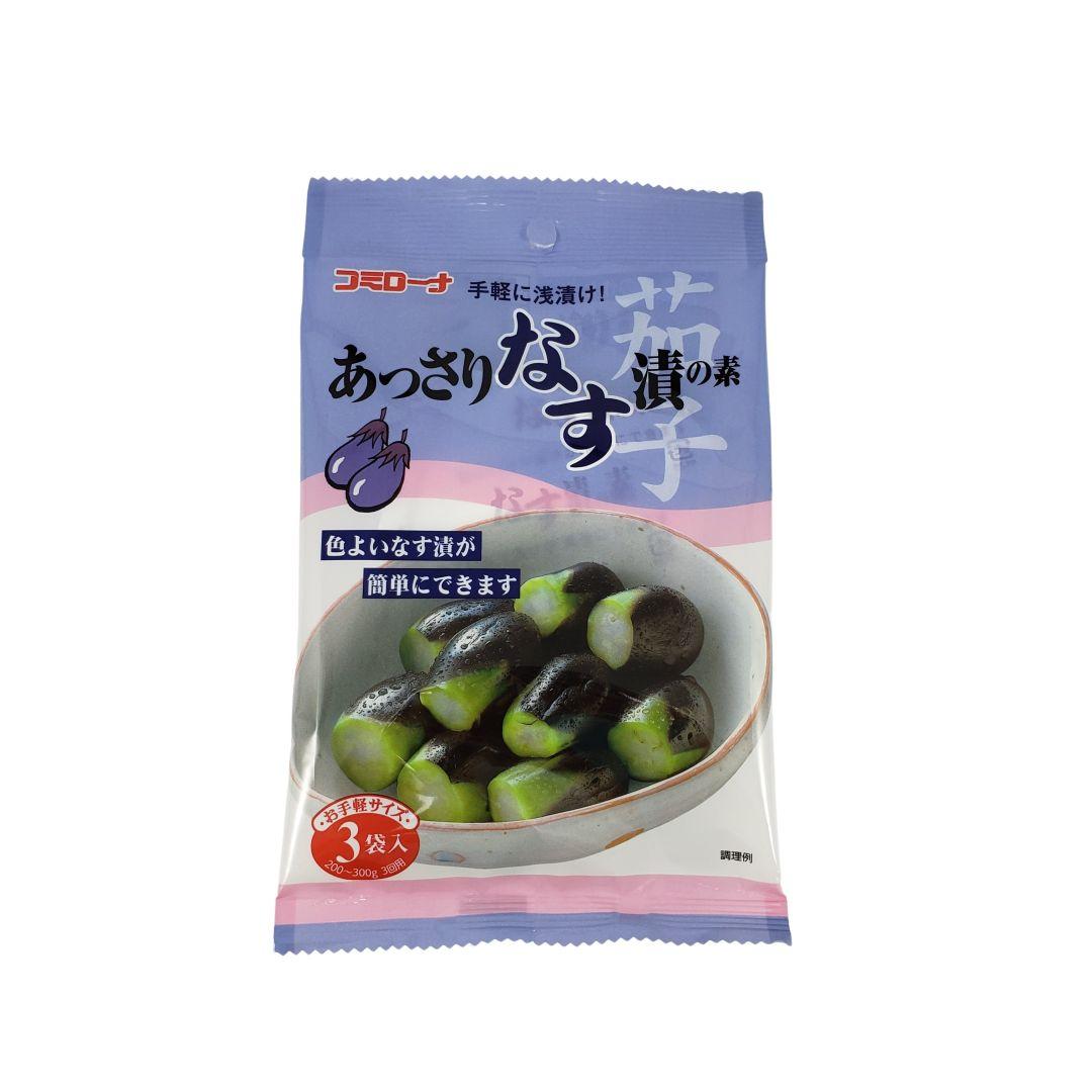 Tempero pronto para conserva de beringela Assari Na Tsuke no Moto Kohsei 30g