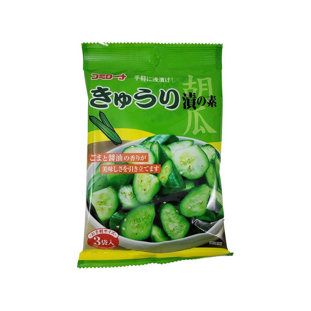 Tempero pronto para conserva de pepino Kyuri Tsuke no Moto Kohsei 45g
