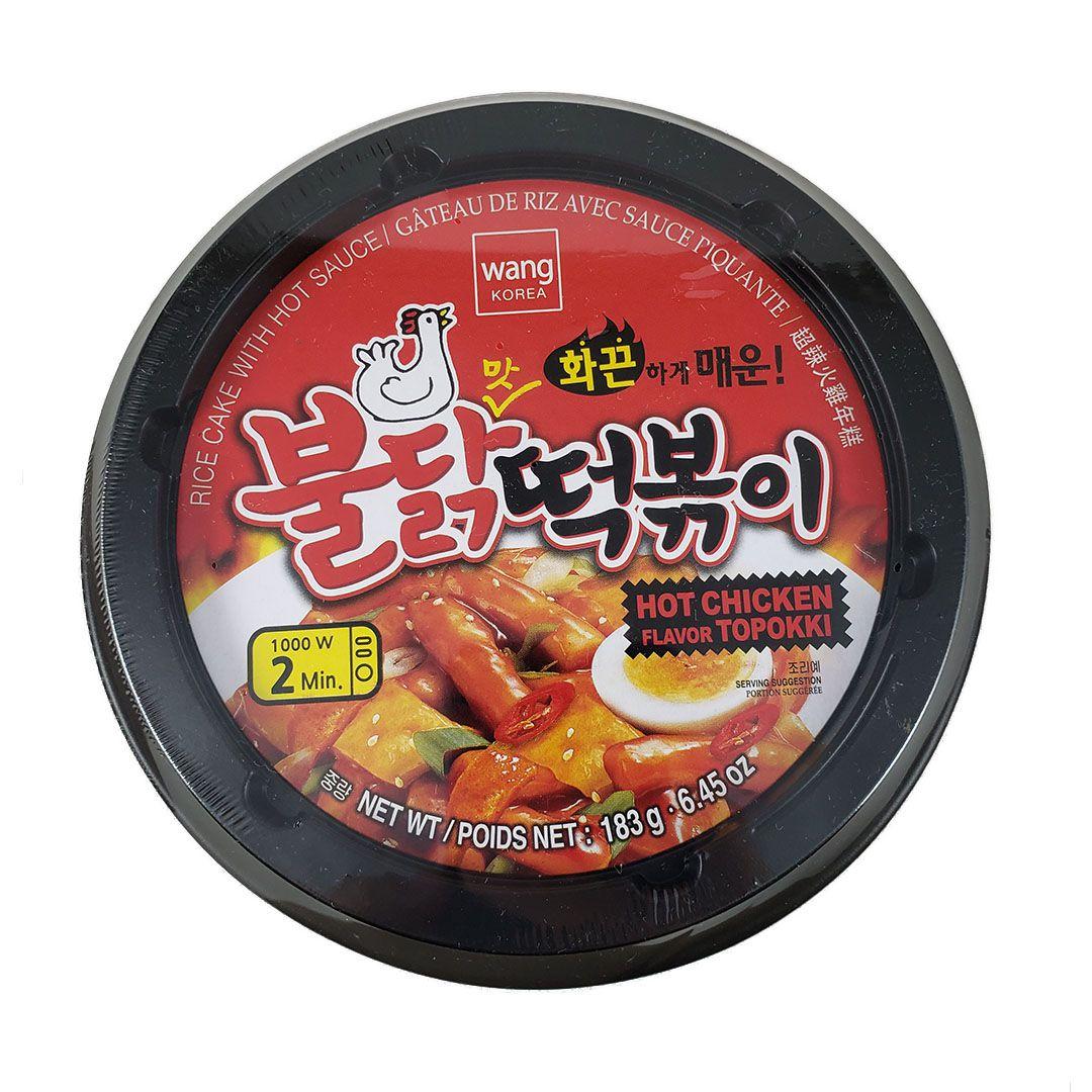 Topokki Frango Picante Hot Chicken Wang Bowl 183g