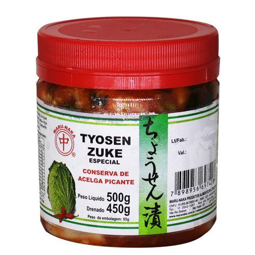 Tyosenzuke Conserva de Acelga Apimentada 500g