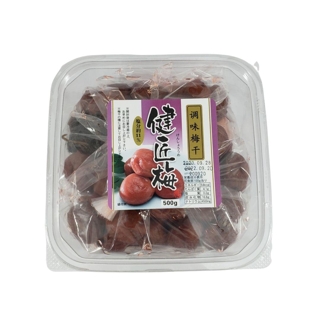 Umeboshi Ameixa Curtida Umezuke Chomi Komati 500g