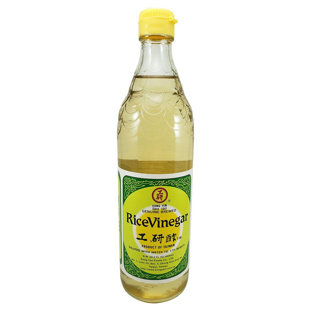 Vinagre de Arroz Glutinoso Motigome Kong Yen Verde 600ml