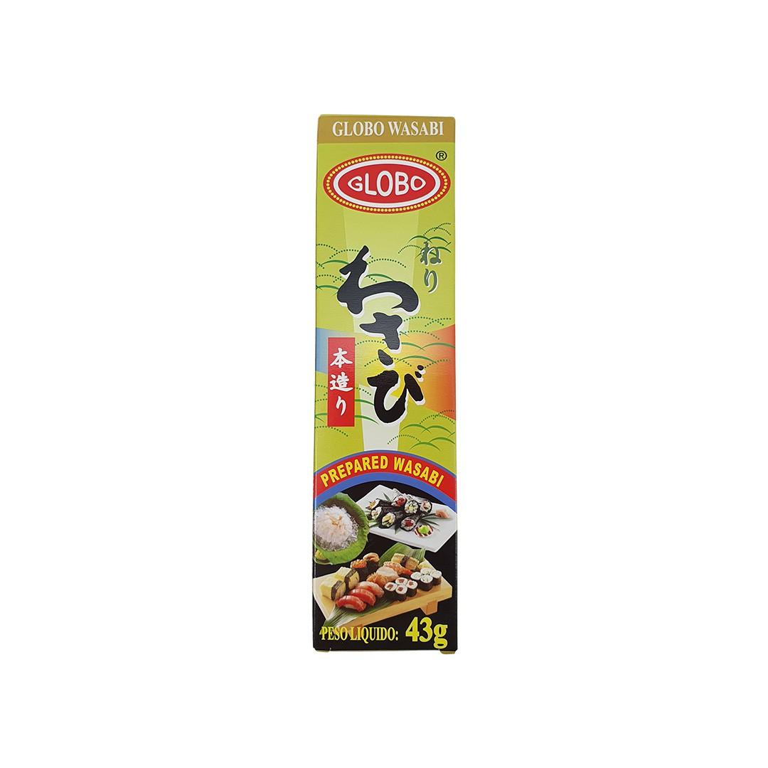 Wasabi em Pasta Globo 43g