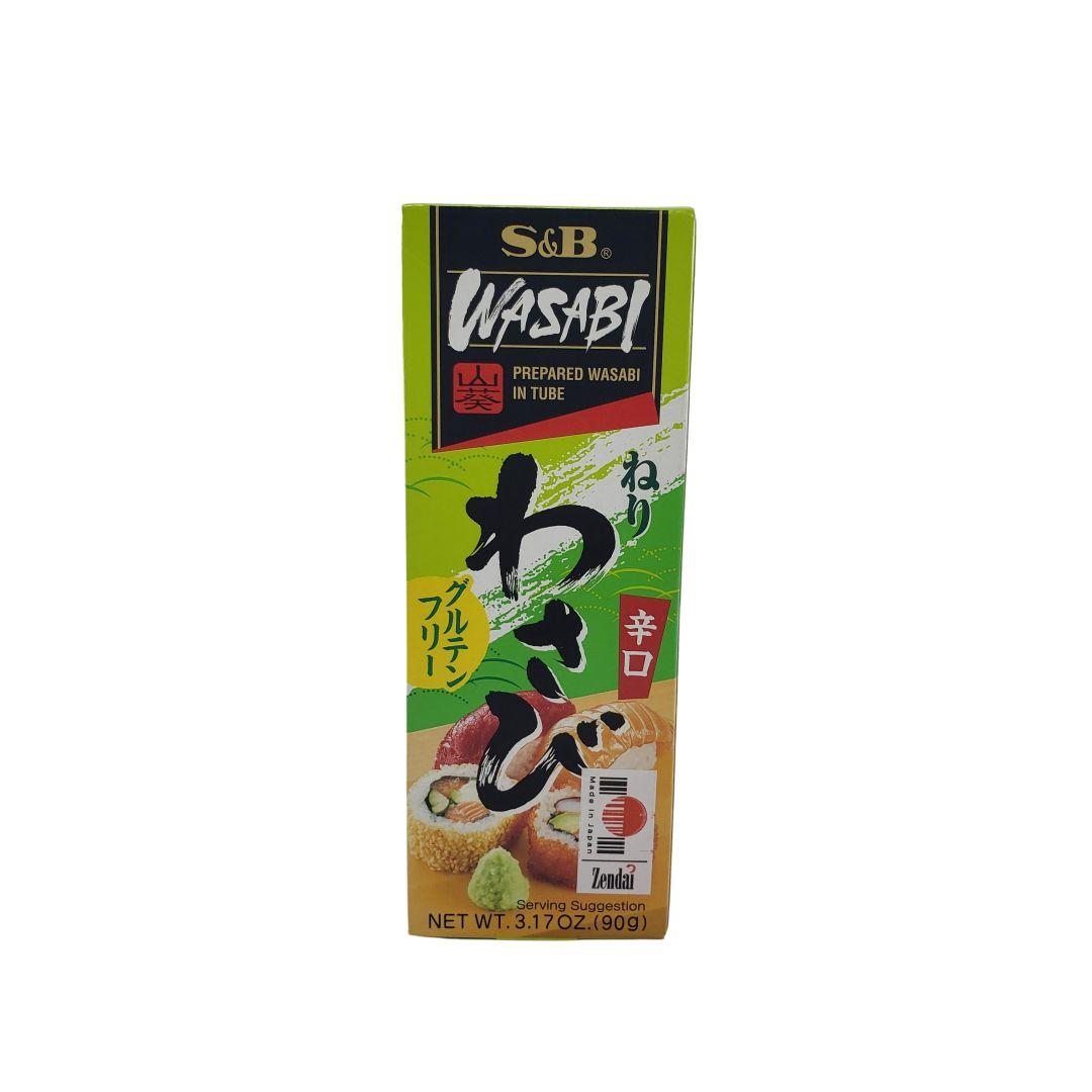 Wasabi em Pasta S&B Neri 90g