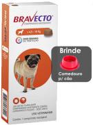 Antipulgas e Carrapatos Bravecto MSD com 1 coomprimido para Cães de 4,5 a 10 kg
