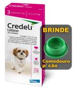 Antipulgas e Carrapatos Elanco Credeli para Cães 112,5 mg de 2,5 a 5,5 kg com 1 comprimidos