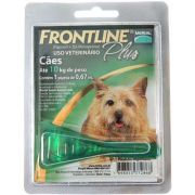 Antipulgas e Carrapatos Frontline Plus para Cães