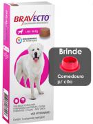 Antipulgas e Carrapatos MSD Bravecto com 1 comprimido para Cães de 40 a 56 Kg