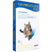 Antipulgas e Carrapatos Revolution 6% para Gatos