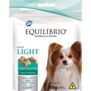 Biscoito Total Equilíbrio Snack Light para Cães de Raças Pequenas - 80 g