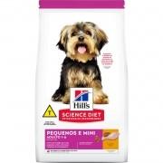 Hills Science Diet para Cães Adultos Raças Pequenas e Miniatura