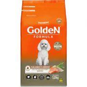Ração Golden Formula Mini Bits Salmão e Arroz para Cães Adultos de Raças Pequenas