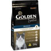 Ração Golden Gatos Castrados Sênior Frango