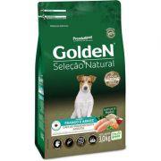 Ração Golden Seleção Natural para Cães Adultos Mini Bits