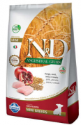 Ração N&D Ancestral Grain Frango Cães Filhotes Raças Pequenas 2,5kg