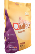 Ração para Gatos Adultos Quatree Gourmet Sabor Mix de Carnes