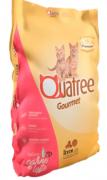 Ração para Gatos Filhotes Quatree Gourmet Sabor Carne e Leite
