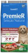 Ração Premier Pet Seleção Natural Cães Adultos Raças Pequenas Frango Korin com Batata Doce