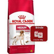 Ração Royal Canin Medium Adult para Cães Adultos de Raças Médias a partir de 12 Meses de Idade 15kg
