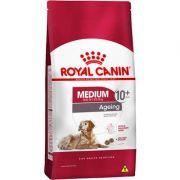 Ração Royal Canin Medium Ageing 10 + para Cães Idosos de Raças Médias com 10 Anos ou mais 15kg