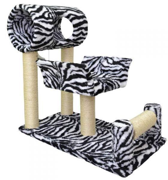 Arranhador Divã Zebra São Pet