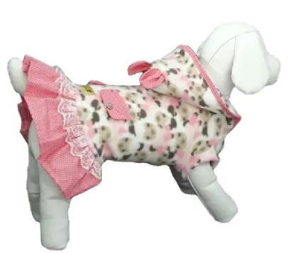 Casaco Soft Capuz Ovelha Rosa - Bonito pra Cachorro