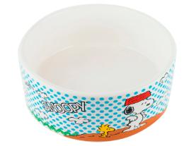 Comedouro Cerâmica Snoopy Charlie Brown