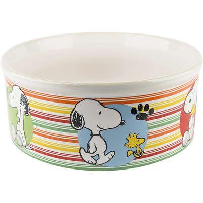 Comedouro Cerâmica Zooz Pets Snoopy