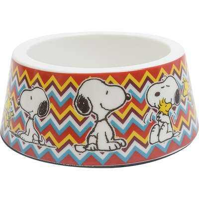 Comedouro Melamina Zooz Pets Snoopy Mel Mosc2