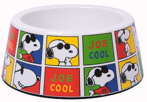 Comedouro Zooz Pets Snoopy Joe Cool para Cães e Gatos
